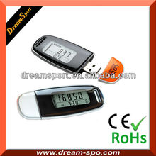 Personal Pedometer for Walking Measures Step Count Calories Used Distance and Exercise Time with Advanced 3d Technology