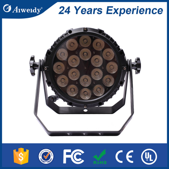 Made in factory DMX512 18*10W 200w led par cans cheap