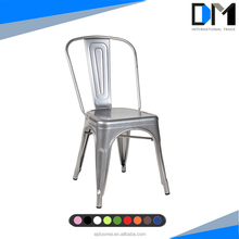 industrial metal frame office chair , wooden metal chair seat cushions