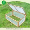 Easily assembled quality-assured garden green house