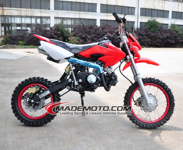 50CC motorcycle 2 stroke dirt bike on road and off road with EEC