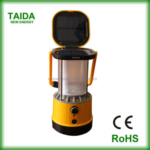 Patent CE RoHS Approved Solar Camping Lantern Lamp with Charger