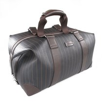 2015 new top grade fabric travel bag business style men travel bag leather
