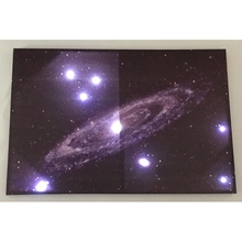 China Supplier Canvas Printing Led Light Home Wall Art Painting