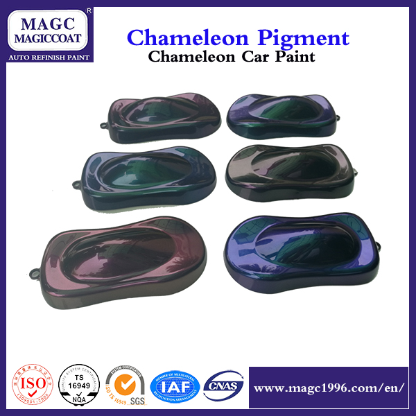Chameleon lacquer body car paint colors for metal coating