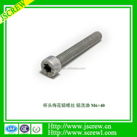 Aluminum hexagon socket head cap screw