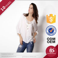 new arrival high quality woman sequence blouse