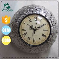Electroting Round Shape Mirror Clock