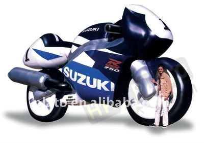 Attractive Advertising Giant Inflatable motorcycle