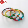Wholesale Mixed colors Braided Cotton Rope Cord Bracelet