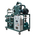 Chongqing Zhongneng Brand High Voltage Transformer Oil Dehydration Purifier Price with Cart / Trolly