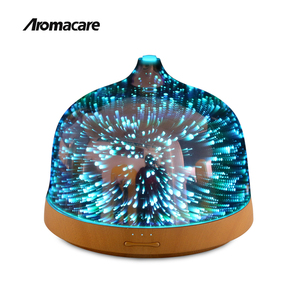Aromacare New Model 200mL Wooden Essential Oil Humidifier Aroma Diffuser Humidifier Part with Sleep Mode Colorful Changing Light