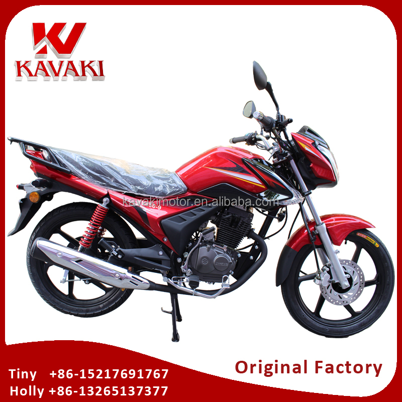 Guangzhou Kavaki Original Factory Export Africa CG125 CG150 Motorcycle Two Wheels Petrol Auto Moto