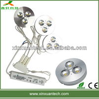 3w bridgelux led under cabinet light lighting fixture