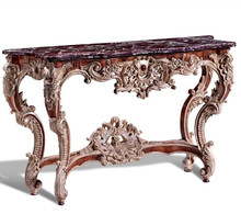 China wholesale baroque style antique console table
