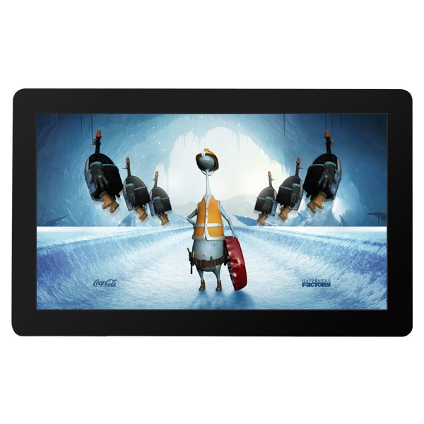 55 inch big size capacitive touch screen tablet pc for advertising