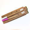 Individually Numbered For Pack Of 4 Best bamboo Toothbrushes
