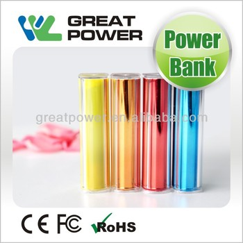 2014 newest factory directly selling fashion 2600mah smartphone power bank