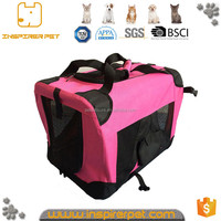 Foldable fabric Dog waterproof pet carrier