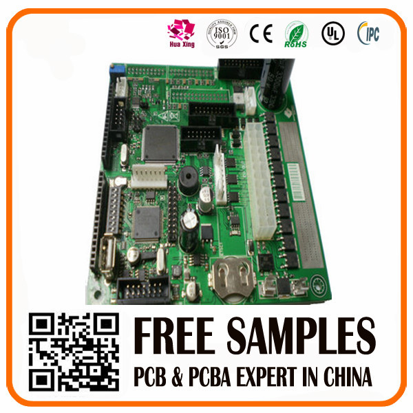 4 -layers Printed Circuit Board Prototype And Fr-4 Pcb Fabrication Lead Free Hasl