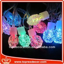 Outdoor Christmas tree decorative covers for string lights