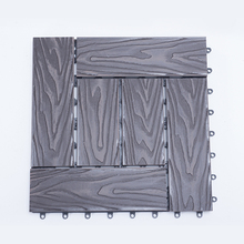 LYW China nature composite yatcht suppliers wpc outdoor wood plastic DIY deck tiles