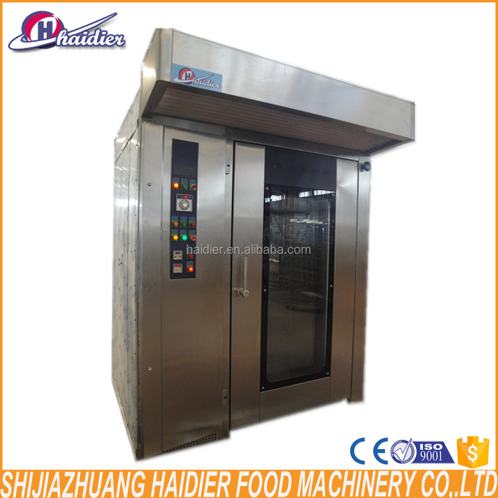 Hot Sale Cake Baking Gas Oven Rotary Oven Price Of Bakery Machinery