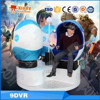 Hot sale 360 Degree Dynamic VR Glasses 9D Cinema Deluxe Chair 9D Game Machine