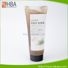 Different fragrant scrub skin care gel natural foot whitening scrub