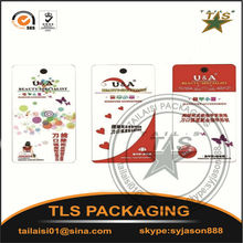 Printed Technics and Garment Tags Product Type custom printed jewelry hang tags