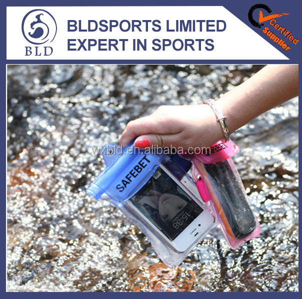 2016 Best selling Promotional waterproof phone PVC bag