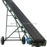 Inclined Portable Belt Conveyor For Agriculturer
