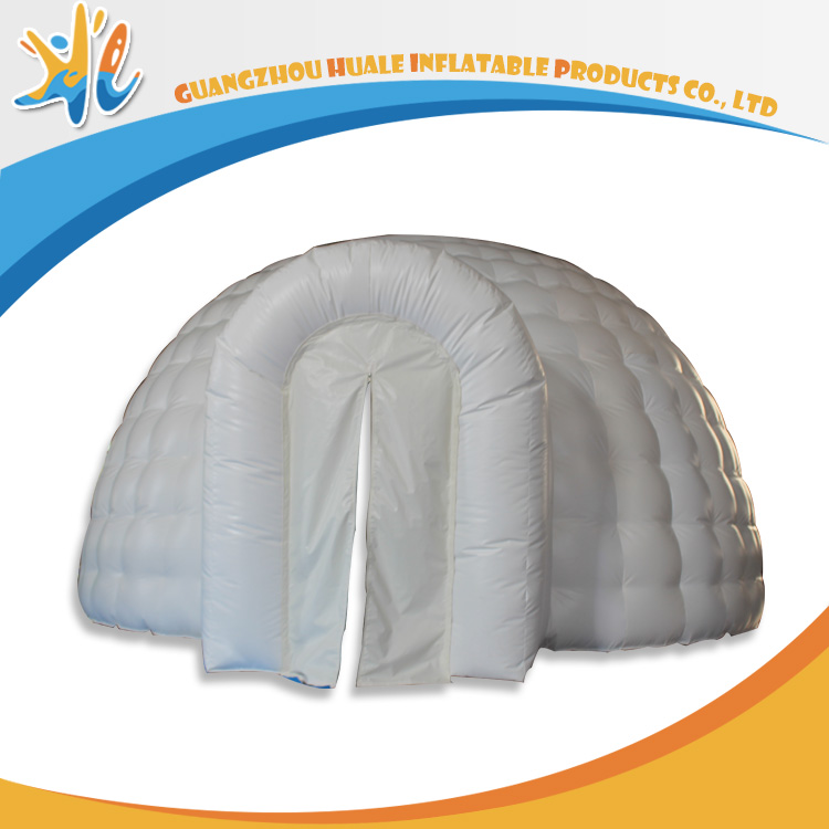 White Bubble PVC Material Giant Circus Tents For Sale