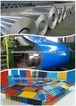 hot sale ! color coated corrugated steel roofing sheets / roofing tiles