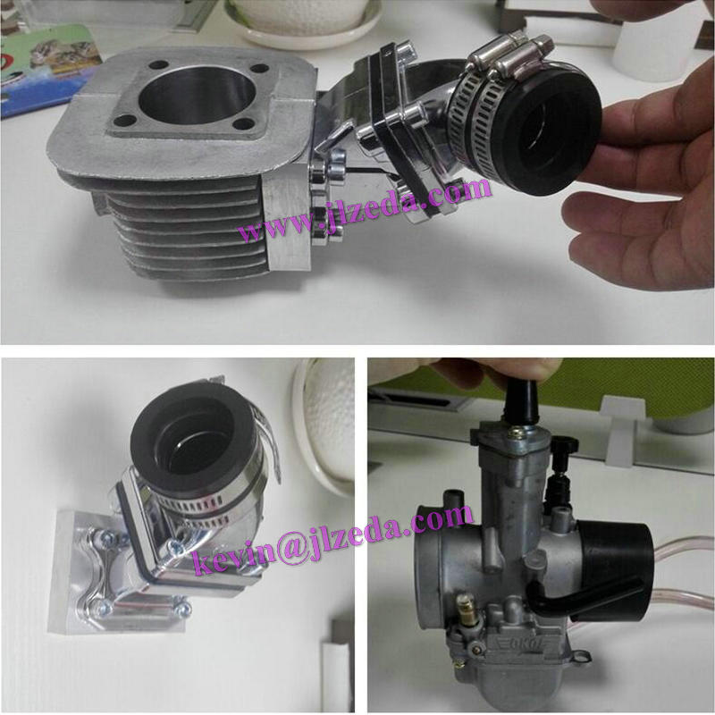 bike engine parts CNC air intake DIO set up reed valve