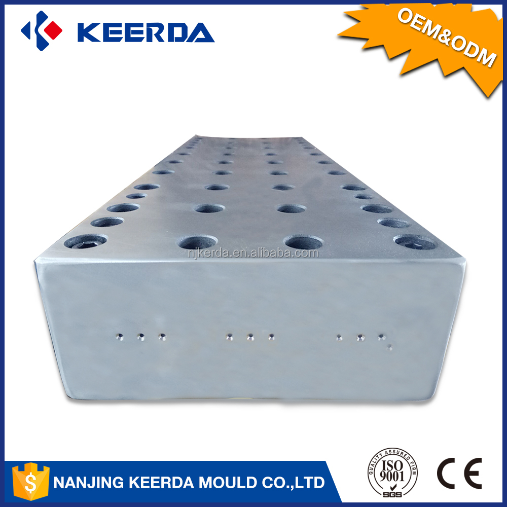 Factory sale 2 and multi cavities pultrusion mould preform injection mould