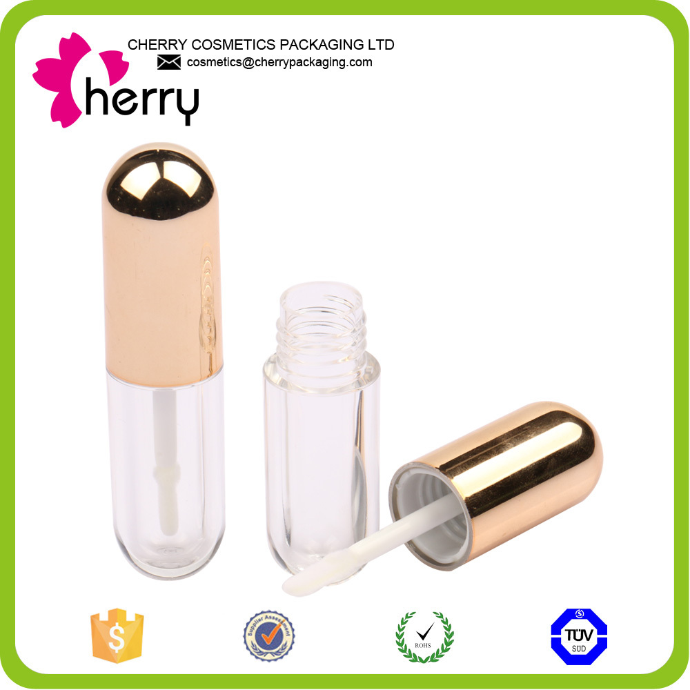 New transparent cosmetic packaging lip gloss contianer