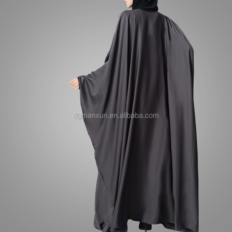 Embellished Floral Embroidery Kaftan Abaya Formal and Occasion Wear Stylish Burka Muslim Dress