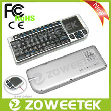 For Laptop mini external keyboards with full certificate CE, FCC, RoHS