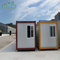 Flat pack steel structure modular panel container house for office living store