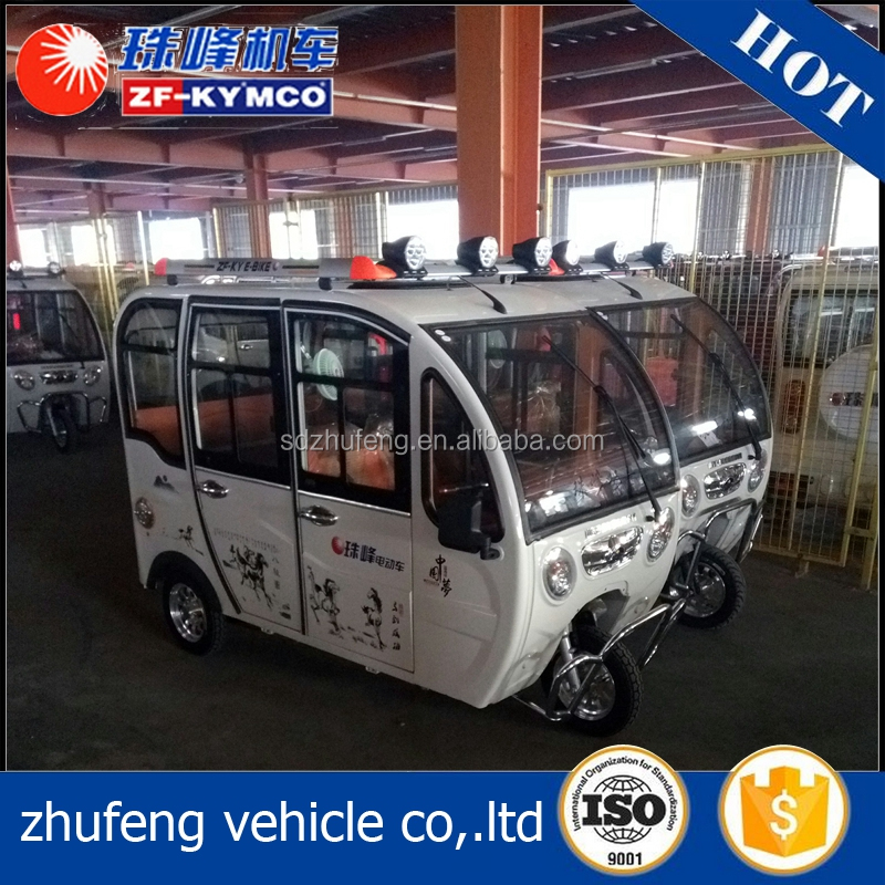 New Arrival rickshaw 3 wheel passenger e bicycle