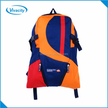 Top quality hot sales lightweight waterproof outdoor hiking and camping navy rucksack sports backpack