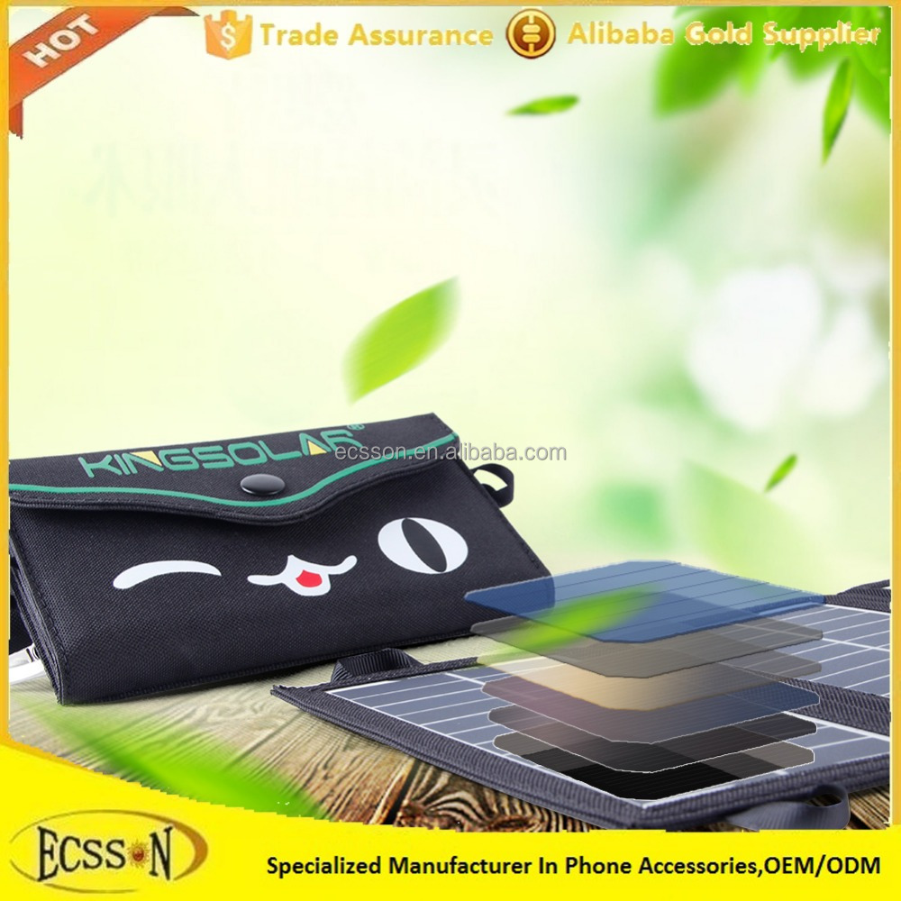 ECSSON or oem 10W mini solar charger for mobile phone with cheapest price