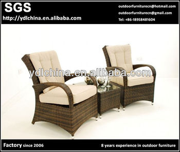 factory sale all weather SGS HDPE rattan patio furniture