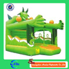 green color inflatable bouncer dragon inflatable bouncer on selling