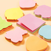 OEM design custom various cute high quality notepad block sticky notes mini memo pad