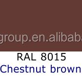 RAL8015 Chestnut brown Aluminium Windows Powder Coating
