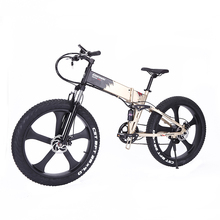 Power Powerful Full Suspension Mountain Mtb Fat Tire 26 Inch Type New Pedelec Portable Electric Offroad Bike