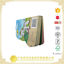 Popular design offset printing hardcover children board book