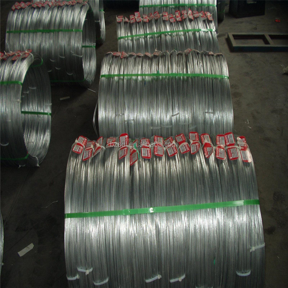 Hebei Langfang galvanized high steel material wire rod